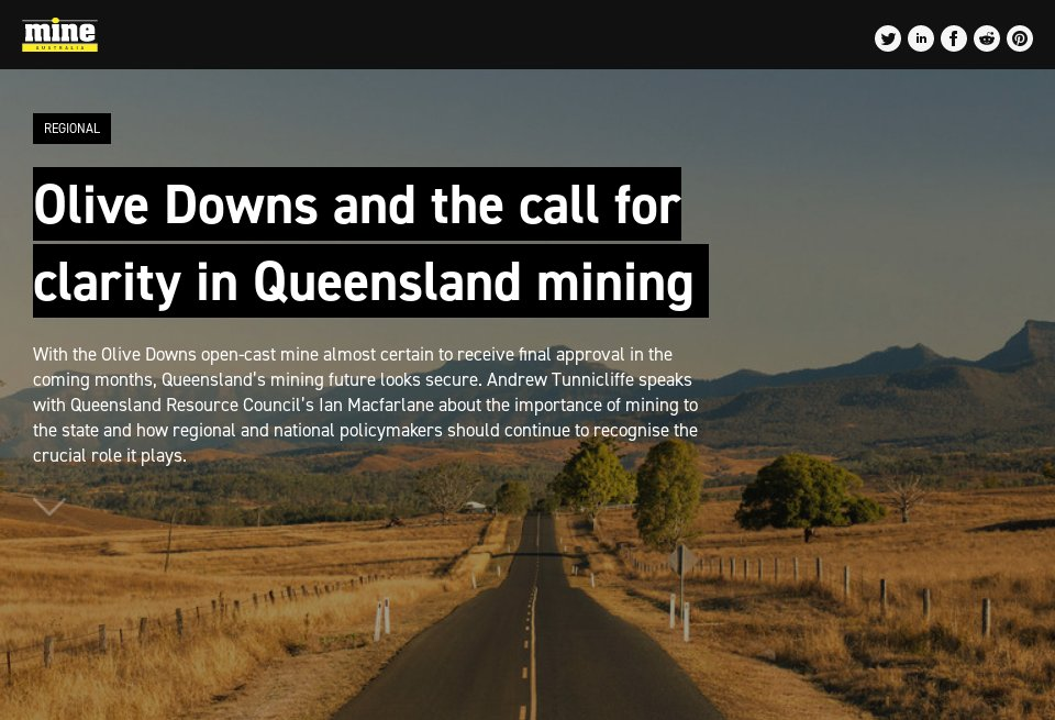 Olive Downs and the call for clarity in Queensland mining