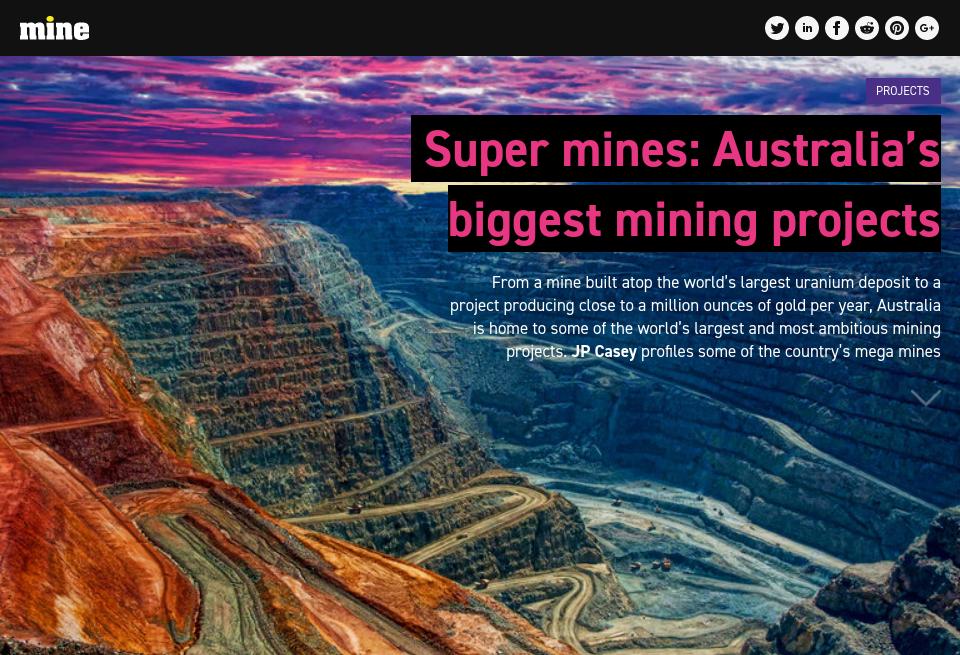 Super mines: Australia's biggest mining projects - Mine