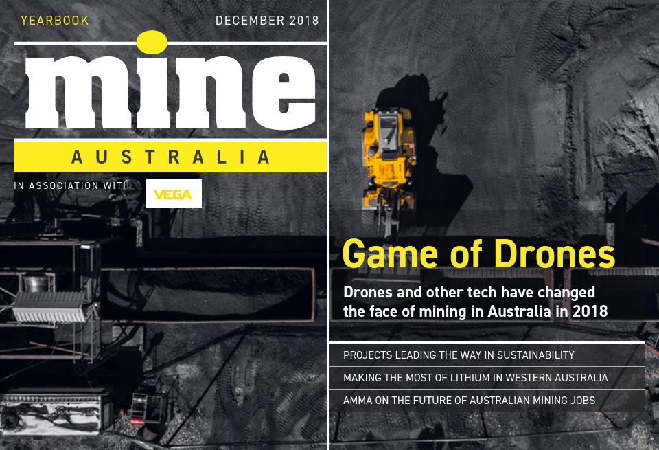 Home | Game of Drones - Mine Magazine Australia | Yearbook 2018